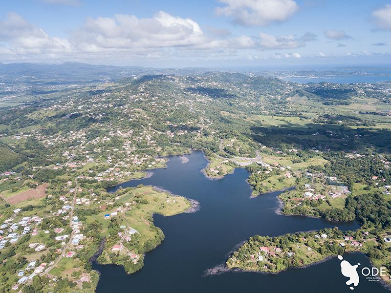 Où trouve-t-on le plus de zones humides en Martinique ?